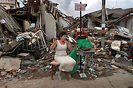 Earthquake damage in Armenia, Columbia.