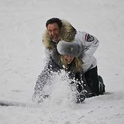NLD/Velsen/20120131 - Presentatie 100% NL Magazine met Gerard Joling en Patricia Paay,