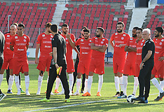 Tunisian football Team in preparation for 2018 FIFA World Cup - 04 June 2018