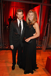 TOM & AMBER AIKENS at a dinner held at the Natural History Museum to celebrate the re-opening of their store at 175-177 New Bond Street, London on 17th October 2007.<br /><br />NON EXCLUSIVE - WORLD RIGHTS