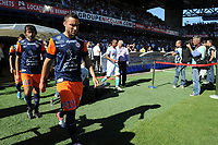 FOOTBALL - FRENCH CHAMPIONSHIP 2012/2013 - L1 - MONTPELLIER HSC v OLYMPIQUE MARSEILLE - 27/08/2012 - PHOTO SYLVAIN THOMAS / DPPI - EMMANUEL HERRERA (MHSC)