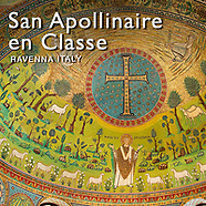 Pictures of San Apollinare in Classe Byzantine Roman Mosaics, Ravenna