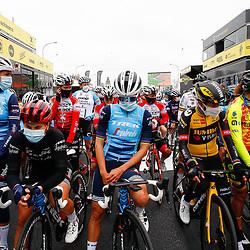 04-04-2021: Wielrennen: Ronde van Vlaanderen (Vrouwen): Oudenaarde<br />Womens race before the start