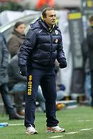 """l'allenatore del parma pasquale marino<br /> parma trainer pasquale marino<br /> Milano 28/11/2010 Stadio """"Giuseppe Meazza""""<br /> Campionato Italiano Serie A 2010/2011<br /> Inter vs Parma<br /> Foto Luca Pagliaricci Insidefoto"""