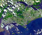 The Republic of Singapore is a city-state off the southern tip of the Malay Peninsula. An island country made up of 63 islands. 22 june 2001.