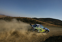 AUTO - WRC 2006 - MEXICO RALLY - LEON 05/03/2006 - <br /> PETTER SOLBERG (NOR) - PHIL MILLS / SUBARU IMPREZA WRC 2006 - ACTION<br /> <br /> PHOTO : FRANCOIS BAUDIN / DIGITALSPORT