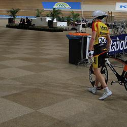 Rochez Harbers is klaar met zijn kilometer
