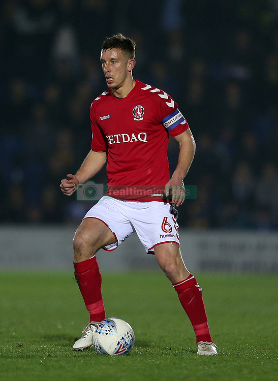 Charlton Athletic's Jason Pearce in action