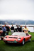 August 15, 2019:  Pebble Beach Concours, Lamborghini Miura 1968