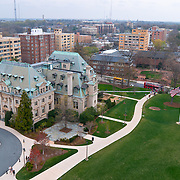 National Cathedral School and the great lawn as seen from the Pilgrim Observatory