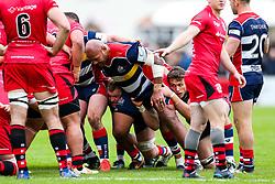 Soane Tonga'uiha of Bristol Rugby - Rogan/JMP - 28/10/2017 - RUGBY UNION - Stade Santander International - St Peter, Jersey - Jersey Reds v Bristol Rugby - Greene King IPA Championship.