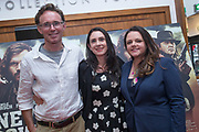 NO FEE PICTURES<br /> 22/8/19 Donal, Marie-Claire and Jacqueline Kerrin at the Irish Preview screening of Never Grow Old at the Savoy cinema in Dublin Picture: Arthur Carron