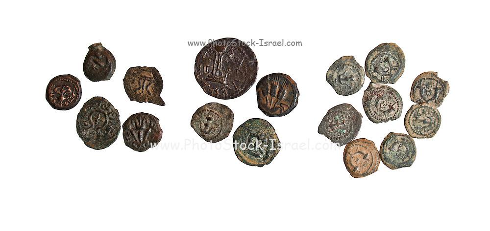 Herod the Great bronze coins 1st century BCE