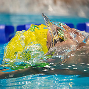 TOKYO, JAPAN - AUGUST 1:  during the Swimming Finals nat the Tokyo Aquatic Centre at the Tokyo 2020 Summer Olympic Games on August 1, 2021 in Tokyo, Japan. (Photo by Tim Clayton/Corbis via Getty Images)