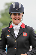 Kristina Cook who came second in the British Equestrian Trade Association CIC*** at Bramham International Horse Trials 2016 at Bramham Park, Bramham, United Kingdom on 12 June 2016. Photo by Mark P Doherty.