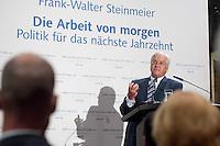 """03 AUG 2009, BERLIN/GERMANY:<br /> Frank-Walter Steinmeier, SPD, Bundesaussenminister und Kanzlerkandidat, Veranstaltung der Karl-Schiller-Stiftung zum Thema """"Die Arbeit von morgen - Politik fuer das naechste Jahrzehnt"""", Baerensaal, Altes Stadthaus<br /> IMAGE: 20090803-02-091<br /> KEYWORDS: Deutschland-Plan"""