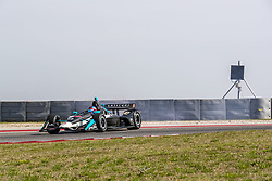 March 22, 2019 - Austin, Texas, U.S. - COLTON HERTA (R) (88) of The United States goes through the turns and spins during practice for the INDYCAR Classic at Circuit Of The Americas in Austin, Texas. (Credit Image: © Walter G Arce Sr Asp Inc/ASP)