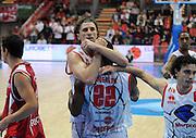 DESCRIZIONE : Piacenza Campionato Lega Basket A2 2011-12 Morpho Basket Piacenza Aget Service Imola<br /> GIOCATORE : Esultanza Luca Infante e Dwayne Anderson<br /> SQUADRA : Morpho Basket Piacenza<br /> EVENTO : Campionato Lega Basket A2 2011-2012<br /> GARA : Morpho Basket Piacenza Aget Service Imola<br /> DATA : 12/12/2011<br /> CATEGORIA : Esultanza<br /> SPORT : Pallacanestro <br /> AUTORE : Agenzia Ciamillo-Castoria/L.Lussoso<br /> Galleria : Lega Basket A2 2011-2012 <br /> Fotonotizia : Piacenza Campionato Lega Basket A2 2011-12 Morpho Basket Piacenza Aget Service Imola<br /> Predefinita :