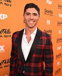 LOS ANGELES - JUNE 26: Filipe Valle Costa attends FX Networks and FX Productions Premiere event for 'Snowfall' at The Theatre at the Ace Hotel on June 26, 2017 in Los Angeles, California. (Photo by Frank Micelotta//FX/PictureGroup) *** Please Use Credit from Credit Field ***