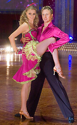 Jodie Kidd and Ian Waite pose at the Strictly Come Dancing on tour Photo call MEN Arena 21 January 2009 © Paul David Drabble