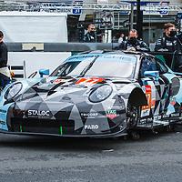 #77, Porsche 911 RSR, Dempsey-Proton Racing, drivers: Matt Campbell, Ricardo Pera, Christian Ried, LM GTE Am, at the Le Mans 24H, 2020, 19 September 2020