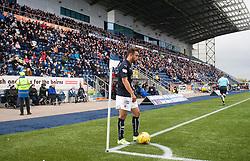 Falkirk's Tom Taiwo. Falkirk v Raith Rovers. Scottish Championship game played 22/10/2016 at The Falkirk Stadium.