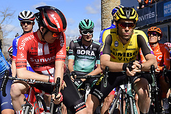 March 15, 2019 - Brignoles, France - BRIGNOLES, FRANCE - MARCH 15 : BAKELANTS Jan (BEL) of TEAM SUNWEB and WYNANTS Maarten (BEL) of TEAM JUMBO - VISMA pictured during stage 6 of the 2019 Paris - Nice cycling race with start in Peynier and finish in Brignoles  (176,5 km) on March 15, 2019 in Brignoles, France. (Credit Image: © Panoramic via ZUMA Press)