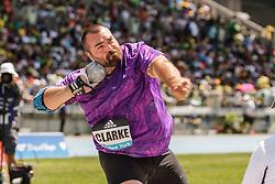 adidas Grand Prix Diamond League Track & Field: Mens' Shot Put, Jordan Clarke, USA