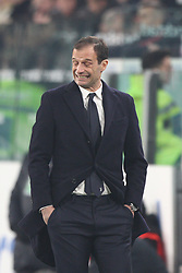 December 23, 2017 - Turin, Italy - Juventus coach Massimiliano Allegri during the Serie A football match n.18 JUVENTUS - ROMA on 23/12/2017 at the Allianz Stadium in Turin, Italy. (Credit Image: © Matteo Bottanelli/NurPhoto via ZUMA Press)