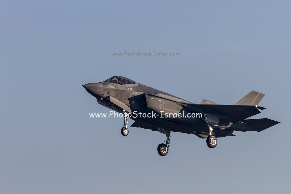 Israeli Air Force Lockheed Martin F-35 (Adir) Land in Italy for refueling (December 8 2016)
