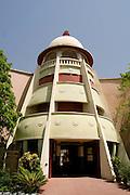 India, Rajasthan, Udaipur Exterior of the Lok Kala Mandal - The Rajasthani folk museum