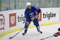 Ziga Jeglic of Slovenia  at ice-hockey friendly match between National teams of Slovenia and Denmark, on April 14, 2010, in Tivoli hall, Ljubljana, Slovenia. Denmark defeated Slovenia 5-3. (Photo by Vid Ponikvar / Sportida)