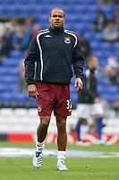 Photo: Steve Bond.<br />Birmingham City v West Ham United. The FA Barclays Premiership. 18/08/2007. Keiron Dyer warms up