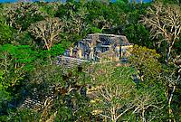El Mundo Perdido (The Lost World), Tikal National Park, Peten, Guatemala