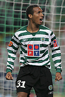 """LISBOA 21 MARCH 2005: # and # in the 26 leg of the Super Liga, season 2004/2005, match  Sporting CP (2) vs FC Porto (0), held in """"Alvalade XXI"""" stadium,  21/03/2005  21:52:40<br /> (PHOTO BY: NUNO ALEGRIA/AFCD)<br /> <br /> PORTUGAL OUT, PARTNER COUNTRY ONLY, ARCHIVE OUT, EDITORIAL USE ONLY, CREDIT LINE IS MANDATORY AFCD-PHOTO AGENCY 2004 © ALL RIGHTS RESERVED"""