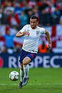England defender Ben Chilwell (Leicester City) during the UEFA Nations League semi-final match between Netherlands and England at Estadio D. Afonso Henriques, Guimaraes, Portugal on 6 June 2019.