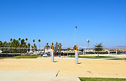 Sand Volleyball Courts At The Orange County Great Park