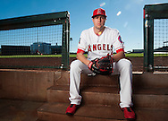 Pitcher Tyler Skaggs poses during the Angels' Photo Day at Spring Training in Tempe, AZ on Tuesday, February 21, 2017. (Photo by Kevin Sullivan, Orange County Register/SCNG)