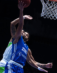November 8, 2017 - Saint Petersburg, Russia - Scottie Reynolds of Zenit St. Petersburg and Pierria Henry of Tofas Bursa vie for the ball during the EuroCup Round 5 regular season basketball match between Zenit St. Petersburg and Tofas Bursa at the Yubileyny Sports Palace in St. Petersburg, Russia, November 08, 2017. (Credit Image: © Igor Russak/NurPhoto via ZUMA Press)