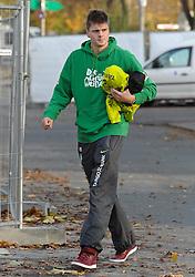 08.11.2010, Trainingsgelaende Werder Bremen, Bremen, GER, 1. FBL, Training Werder Bremen, im Bild Sebastian Prödl / Proedl (Bremen #15)   EXPA Pictures © 2010, PhotoCredit: EXPA/ nph/  Frisch+++++ ATTENTION - OUT OF GER +++++