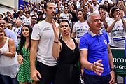 Geppi Cucciari<br /> Banco di Sardegna Dinamo Sassari - Umana Reyer Venezia<br /> LBA Serie A Postemobile 2018-2019 Playoff Finale Gara 6<br /> Sassari, 20/06/2019<br /> Foto L.Canu / Ciamillo-Castoria