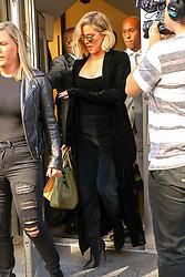 Khloé Kardashian seen leaving Bloomingdales store in New York City. 28 Oct 2017 Pictured: Khloé Kardashian. Photo credit: ZapatA/MEGA TheMegaAgency.com +1 888 505 6342