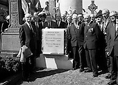 1967 - Unveiling of Memorial to Thomas Ashe, Peadar Kearney and Piaras Béaslaí at Glasnevin