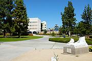Fallen David Statue on the Campus of California State University Fullerton