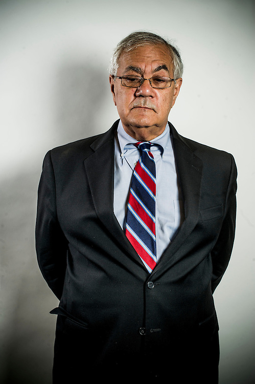 Rep. Barney Frank (D-MA) poses for a portrait in his office on July 20th, 2012 in Washington. (Photo by Jay Westcott/Politico)