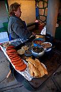 Mexican food, chile relleno, Divisadero Barrancas, Chihuahua, Mexico
