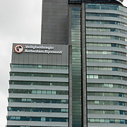 NLD/Rotterdam/20170509 - Veiligheidsregio Rotterdam-Rijnmond (VRR) is een overheidsorganisatie die namens de 15 gemeenten in de regio taken uitvoert op het gebied van rampenbestrijding, crisisbeheersing, risicobeheersing, brandweerzorg, ambulancezorg en geneeskundige hulpverlening.