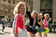 Girls from the Flynn School of Irish Dance, in Yonkers, NY.
