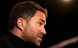 Eddie Hearn at The O2 Arena, London.