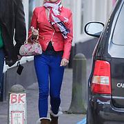 NLD/Laren/20120327 - Barbie uit Oh Oh cherso krijgt proef makeup voor haar huwelijk,